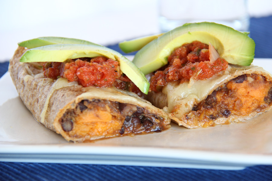 Addictive Sweet Potato Burritos Recipe — Dishmaps