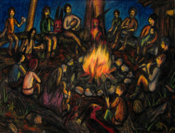 Full Moon Dinner & Drumming Circle (SOLD OUT- Wait List)