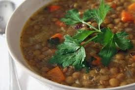 Lentil and Sweet-Potato Soup